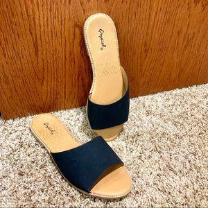 Qupid sandals NWOT